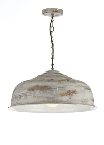 Nara 1 Light Pendant Aged Metal (Class 2 Double Insulated) BXNAR0131-17